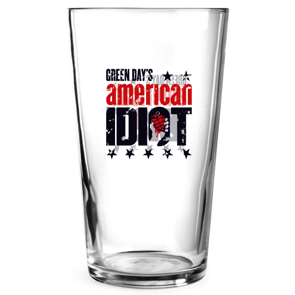 American Idiot Beer Glass