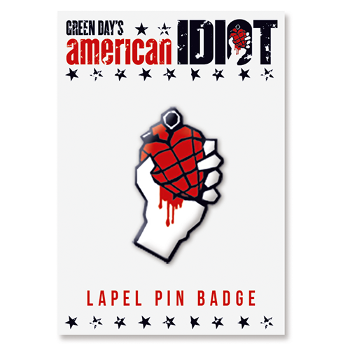 American Idiot Lapel Pin