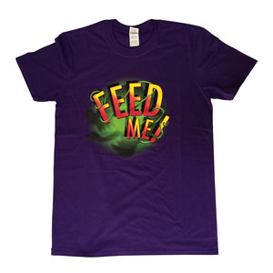 Little Shop of Horrors Purple T Shirt - Small