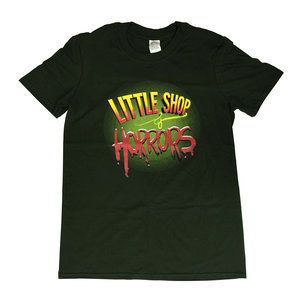 Little Shop of Horrors Green T Shirt - Large
