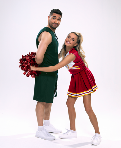 ANNOUNCEMENT: Amber Davies & Louis Smith to star in UK & Ireland Tour of Bring It On The Musical