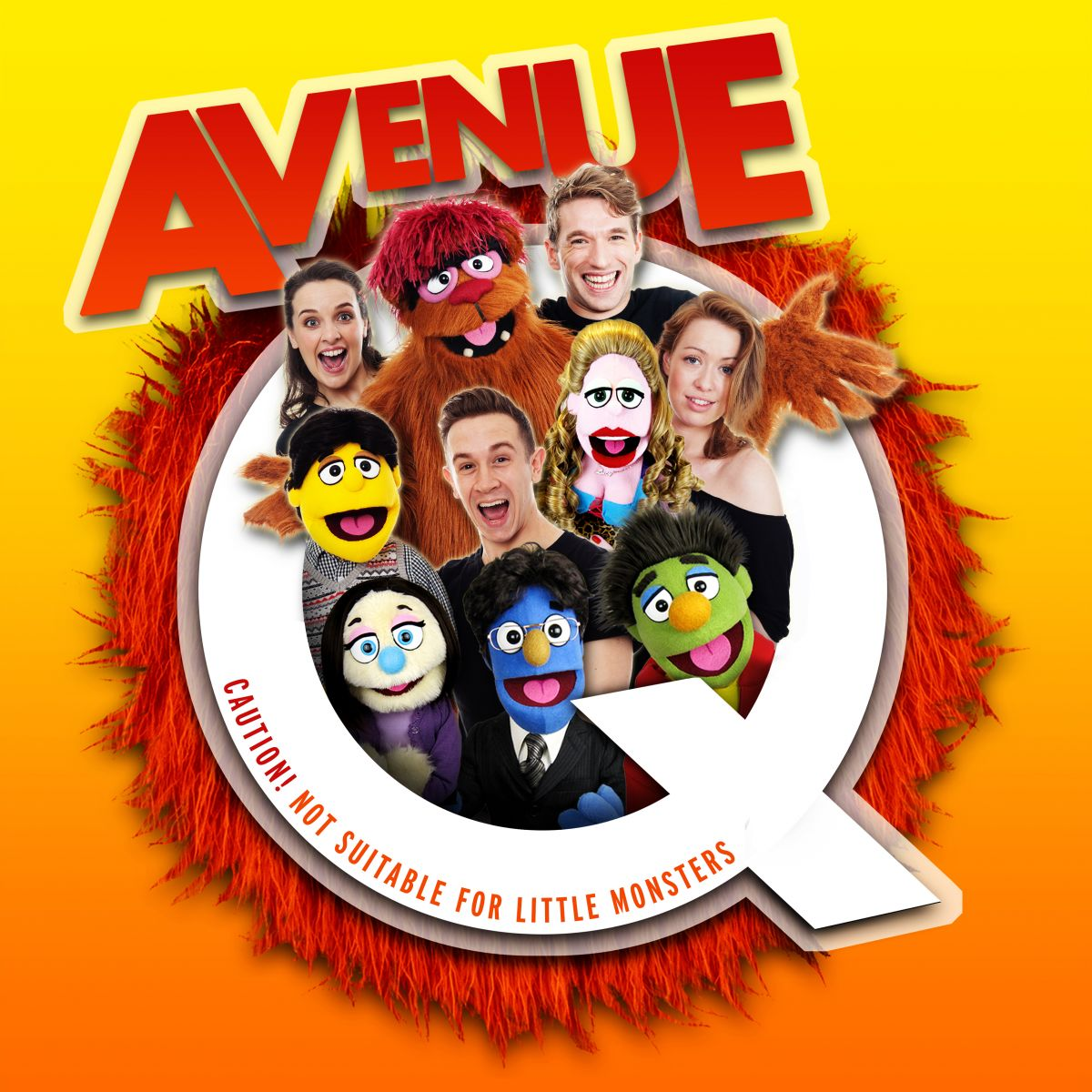 ANNOUNCEMENT: Avenue Q on tour 2015/2016