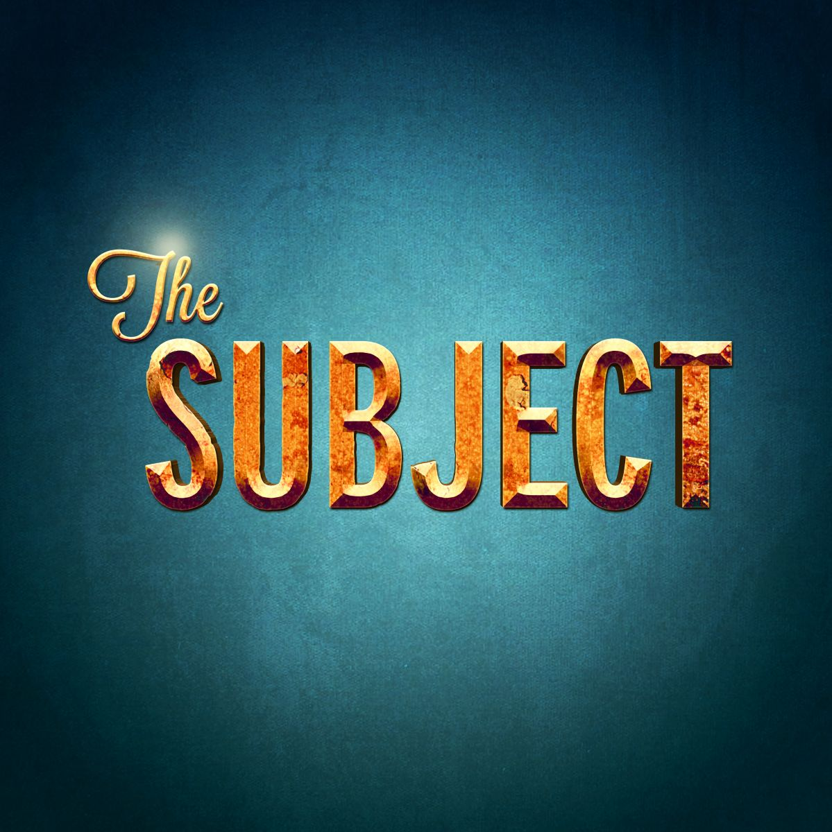 ANNOUNCEMENT: The Subject Upstairs at the Arts Theatre