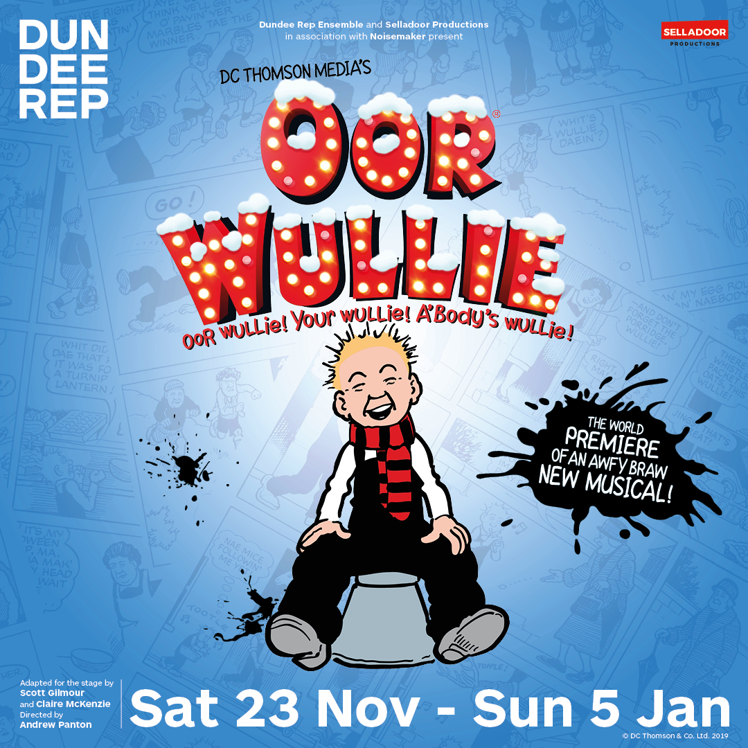 ANNOUNCEMENT: Oor Wullie to tour Scotland in brand new musical