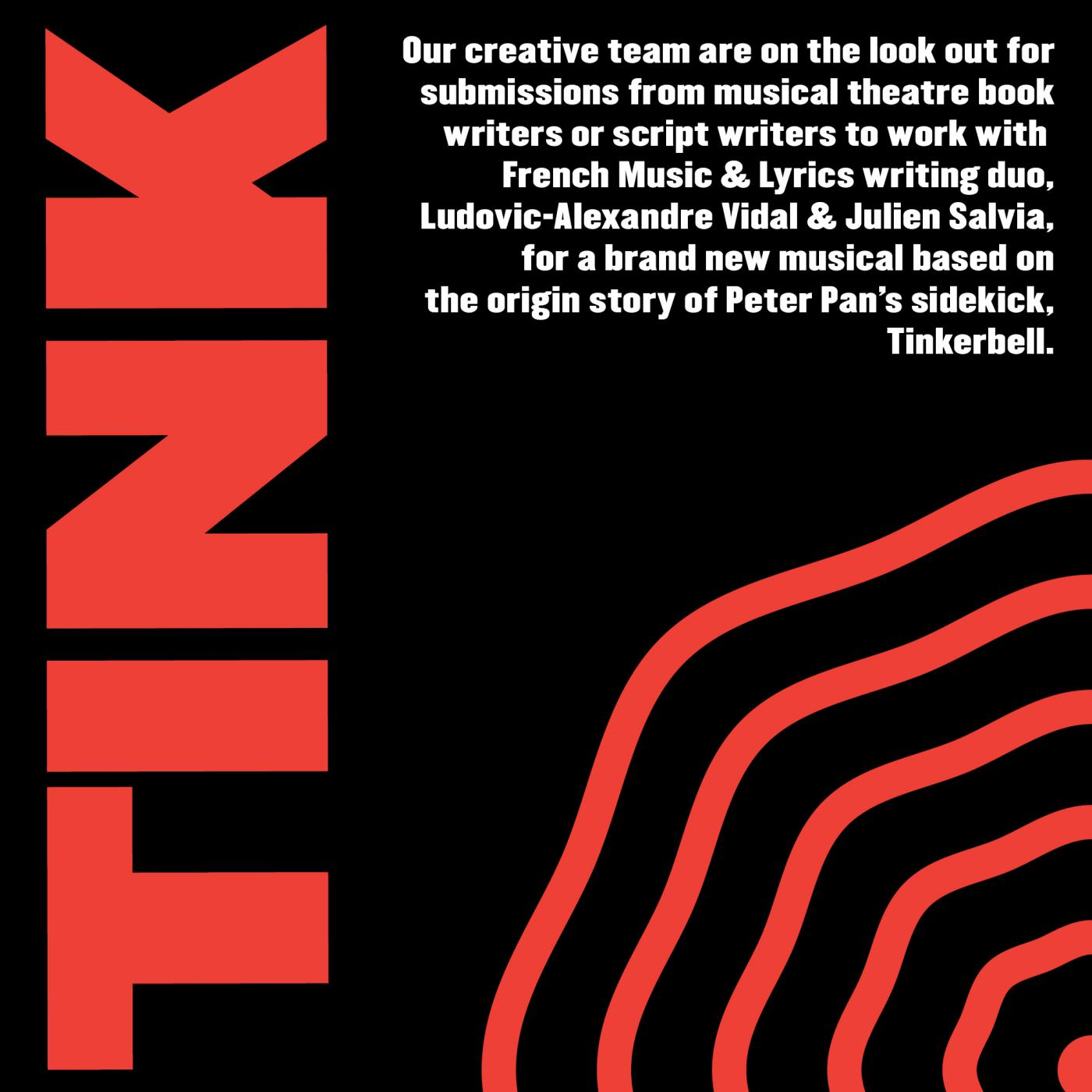 ANNOUNCEMENT: Preston Live Arts Festival search for local writer to join creative team for new musical 'Tink'