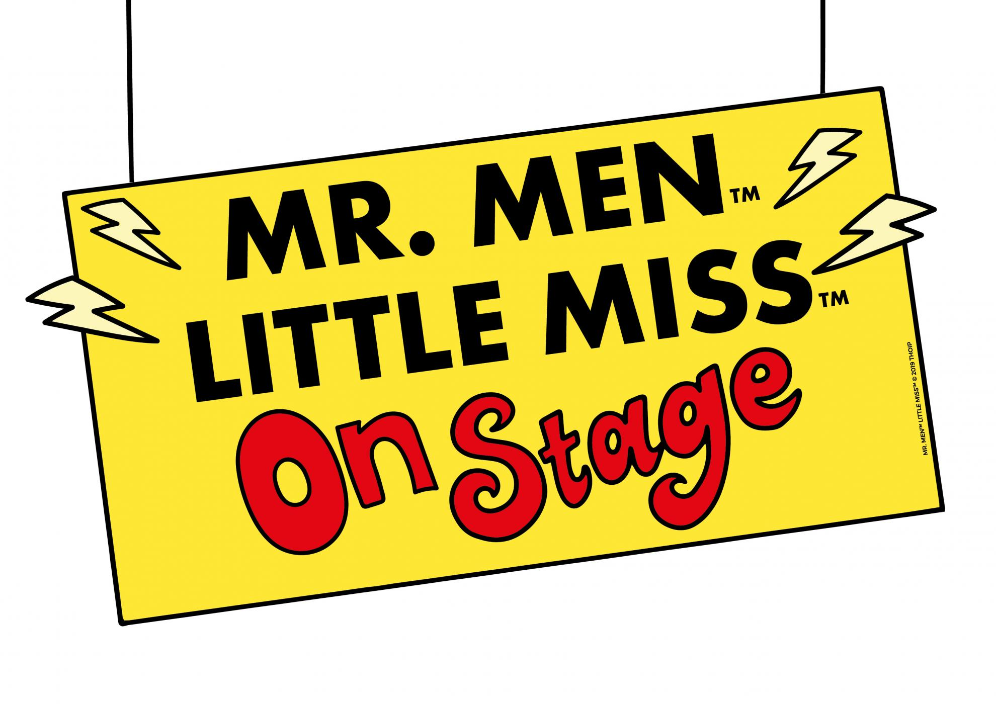 ANNOUNCEMENT: Mr. Men & Little Miss announced as part of Edinburgh Fringe this summer